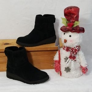 UGG Kristen Black Winter Ankle Boots Sz 7.5